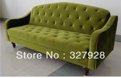 American style fabric sofa &sofa bed tufted sofa(China (Mainland))