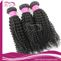 Promotions High quality Grade AAAAAA 8inch-30inch mongolian kinky curly hair 1b# color