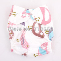 New in 2013 All in One Adjustable TPU Waterproof 2pcs Washable Reusable Baby Minky Cloth Diapers/Nappies+ 2pcs Microfiber Insert