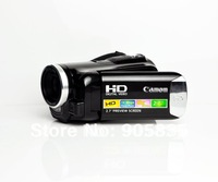 HD Camcorder 14Mega Pixel  High definition camcorder+2.7'' screen+Rechargable lithium battery+AC charger+Free bag gift included