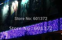 10*0.65M 320pcs LEDs 220V LED curtain light Christmas/wedding/party/hotel decoration,led string tree light
