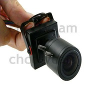 HD 600TVL Mini CMOS CCTV Security Video Color Camera 2.8-12mm Manual IRIS Focus Zoom MTV Lens