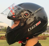 Free shipping 2013 LS2 Top Carbon fiber motorcycle helmet AS NZS 1698 APPROVED LS2-FF-CFB