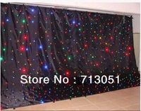 3m*4m RGBY LED Star Cloth, LED Star Curtain, LED Stage Backdrop, Wedding Decoration