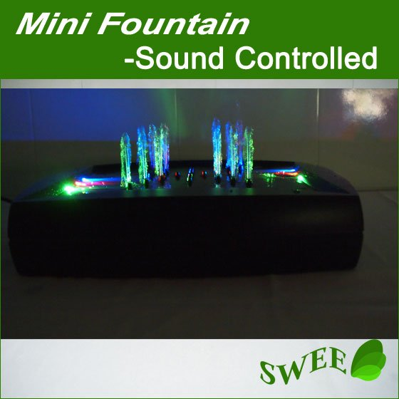 Electronic Dance Fountain Controlled by Music/Sound/Voice Best Christmas Gift-Musical Fountain(China (Mainland))