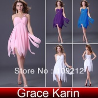 Free Shipping 1pc/lot One Shoulder Celebrity Formal Prom Discount Short Cocktail Party Dresses CL3185