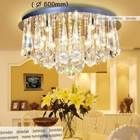 Freeshipping  The livingroom bedroom  sittingroom  chandeliers  /  diameter 600mm  controlled crystal lamps