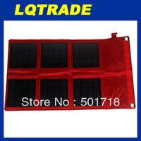 High efficiency  solar panel/18W Solar folding outdoor laptop charging bag