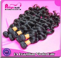 Cheap brazilian hair weave 6A  raw unprocessed virgin brazilian natural wave human hair extension 4pcs/lot free shipping
