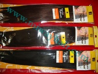 "Free shipping Premium Now 18"" 4# yaki wave Hair extension Hair weaving"