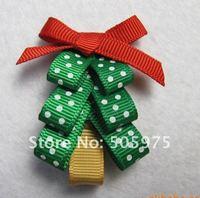 Hair clips for kids   Hairbow Christmas hair clips,kids hair accessories