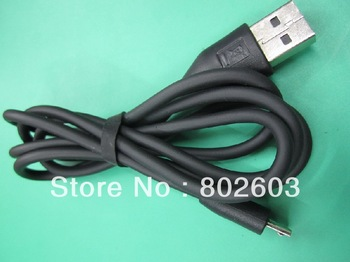 Free Shipping +4pcs/lot Generic Micro USB Cable,Data & Charger USB 2.0 Line,For Nokia HTC Samsung Motorola Blackberry