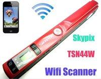 Free shipping!!Skypix Wireless Wifi Handheld Handy Portable A4 Document Photo Scanner 900 DPI