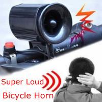 Waterproof Loudspeakers Ultra-loud Bicycle Bike Electronic Bell Horn Ring Alarm Siren 6 Sound Loud Speaker Mini Equipment