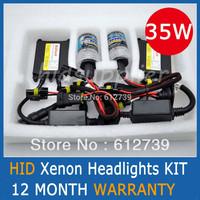 HID Xenon Headlights Conversion KIT H1 H3 H7 H9 H11 9005 HB3 9006 HB4  4300K 6000K 8000K SLIM BALLAST