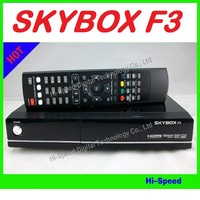 5pcs/lot Fedex Free shipping ! Skybox F3 1080P Full HD DVB-S DVB-S2 MPEG4 Satellite receiver PVR CCCAM