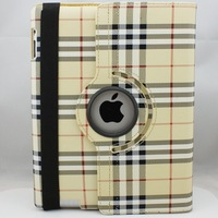 NEW ARRIVAL ! Leather Case for ipad 2 3 Smart cover for ipad 4  with 360 Degrees Rotating Stand Free Shipping Drop Shipping