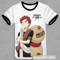 Free Shipping! DIY A3 Size Picture, Manga NARUTO &quot;Gaara of the Desert&quot; Printing, Short sleeve Tee, 2 styles~~~~