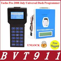 2014 Topping Tacho Pro 2008 Odometer Correction Universal Dash Programmer Unlocked Version 2008.07 DHL Free Shipping Tacho 2008