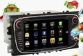 Free Russian ShippingIn 2 Din Car Head Unit GPS MP3 CD DVD Player Ipod 1Ghz Android 2.3 WIFI 3G F/Ford Mondeo S-Max Focus Galaxy