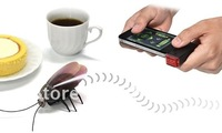 2pieces Free shipping Gokiraji for iPad, iPhone Remote Control Cockroach Roach bug RC toy by JTT