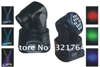 1W 18 PCS LED Moving Head Light