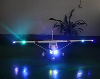 RC plane RTF 6ch 2.4G EPO 1.5m big Large Cessna 182ST electric with LED and flaps