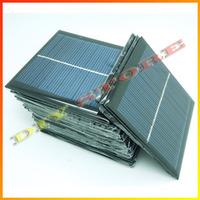 20pcs/lot 140mA 0.77W mini solar panels small solar power 3.6v battery charge solar led light solar cell -10000547