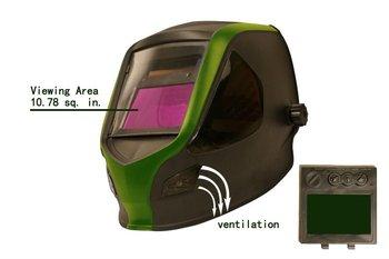 X9000 auto darkening welding helmet