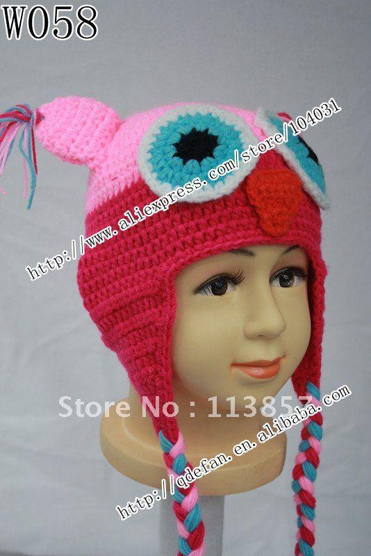 New !! Free shipping (10/lot )100% cotton infant beanie caps,handmade crochet baby hat,free knitting patterns baby beanie(China (Mainland))