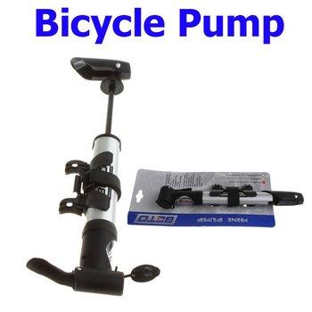 Hot Sale Mini Cycling Mountain Bicycle Bike MTB Pump Gauge  Air Stick Presta Schrader Wholesale