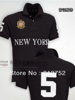 NEW YORK polo shirt men brand 2013 fashion hot sale casual brand men embroidery logo shown european style