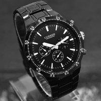 Luxurious Black Classic Dial Men Watches CURREN Brand Men Business Fashion Watches Adjustable Steel Quartz Watch For Men M932B