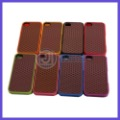 10pcs/lot New arrivel slicone waffle shoe sole off the wall phone case With retail package for iPhone 4 4S Free Shipping