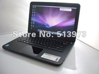 hot lowest 13.3 inch laptop mid notebook with DVD-ROM intel atom 1.86ghz/1gb/160gb( up to 2gb/500gb) with wifi camera