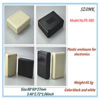 10 pieces a lot plastic standard enclosure 90*70*28 mm 3.5*2.8*1.1inch  case electronic plastic