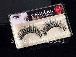hot product hand made false eyelashes synthetic hair cosmetics fasle eyelashes wholesale OEM ODM(China (Mainland))