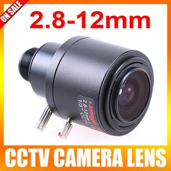 2.8-12mm Varifocal Auto Zoom Lens Fixed Iris CCTV Security Camera MTV Mount Lens