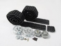 Mato Metal upgraded Tracks,sprockets,idler wheels set for Heng Long 3869/79-1 1/16 1:16 RC German Jagdpanther/Panther G tank