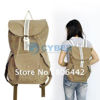 New Casual Men Women Canvas Backpack Rucksack Shoulders Bag Travel Bags Children Bag