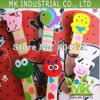 Free Shipping/Small gift Wooden Clip/message folders/Paper Clip/ Gift Peg, DIY Tool 3.5 cm-3000 pcs/lot 0661