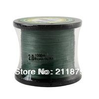 wholesale 1500yds green 6LB10LB15LB20LB30LB40LB50LB65LB80LB100LB braided fishing line dyneema