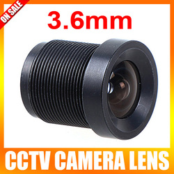 3.6mm CCTV Monofocal Fixed Iris Board Mount Lens / MTV Lens / Mini Lens(China (Mainland))