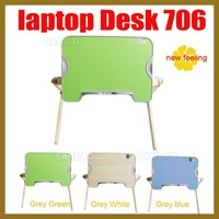 Mesa Notebook Fashion Laptop Table Notebook Computer Desk Folding Bed Stand Wooden Stylish And Practical Convenient To Use In