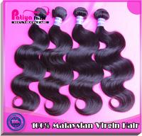 Free shipping 6A grade malaysian virgin  human hair body wave 3pcs/lot unprocessed virgin human hair weave natural color