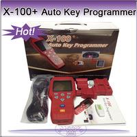 Newest Professional x100 X-100+ Auto Key Programmer English Version update online x100 PLUS
