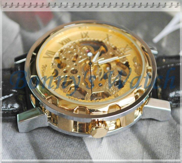 Китайские мужские часы Winner Skeleton Sport