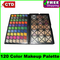 Free Shiping X120, 120 Color Eyeshadow makeup pigment Palette
