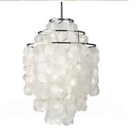 Hot Sell Product Verpan Fun Verner Panton,3 Circle,DIY Pendant (dia40cm),naturals sea shells lights chandelier,free shipping