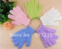 Bath Scrubber Cloth Bath Mitt Exfoliating Gloves Cloth Body Moisturizing Spa Skin Care 10Pcs/Lot HB926